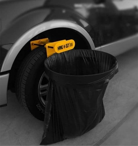 Outdoor Portable Trash Can by Hang N Out