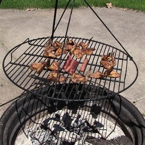 Sunnydaze Fire Pit Cooking Grate