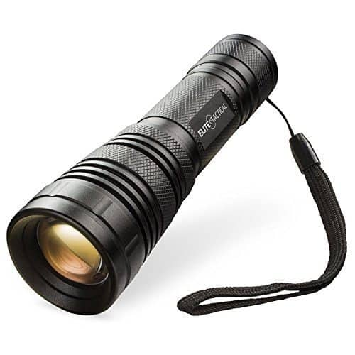 The Elite Tactical Pro 500 Series Flashlight