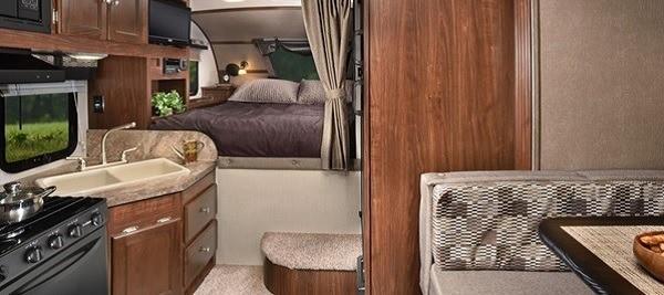 Truck Camper Interior