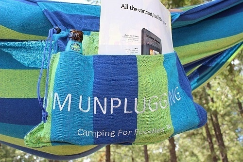 camping for foodies hammock