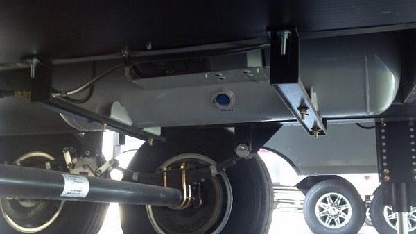 rv tank underbelly