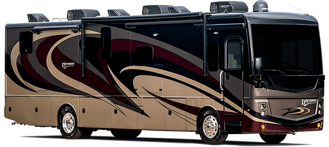 Fleetwood Discovery Class A RV