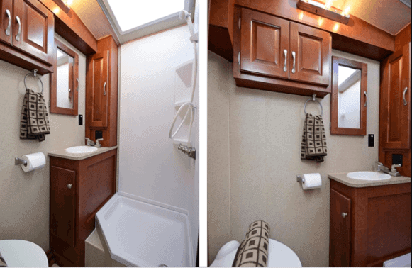 RV Dry Bathroom