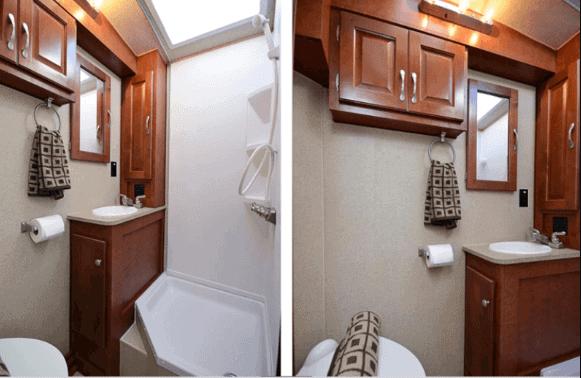 RV Dry Bathroom