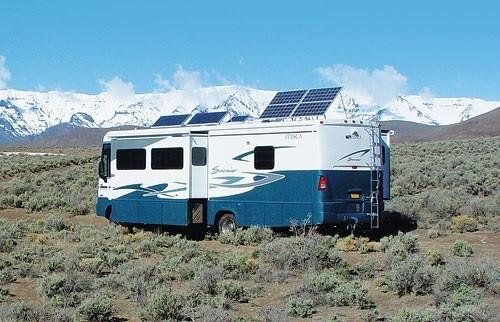 rv solar panel bondocking