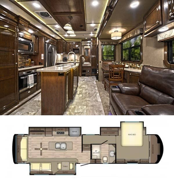 Fifth Wheel Inside