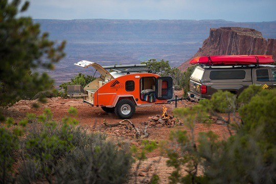 Teardrop Trailer Off Road
