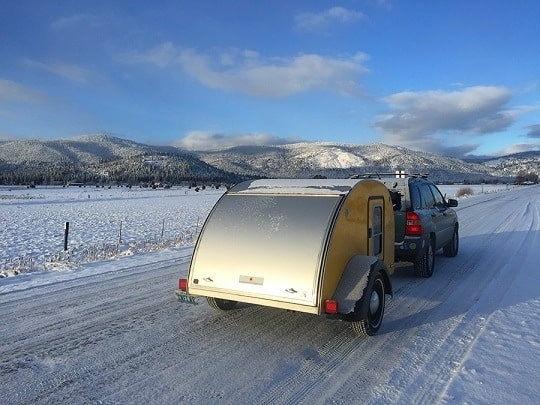 Teardrop Trailer Towing