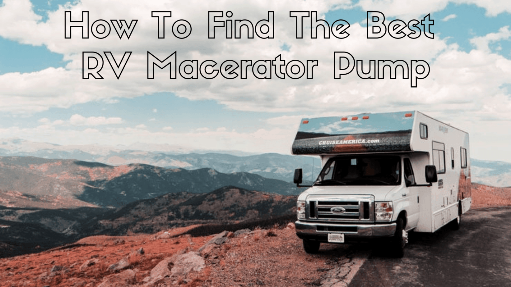 The Best RV Macerator Pump in 2021: How to Find the Right One