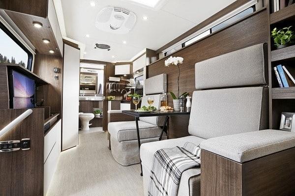 Class A Motorhome Interior