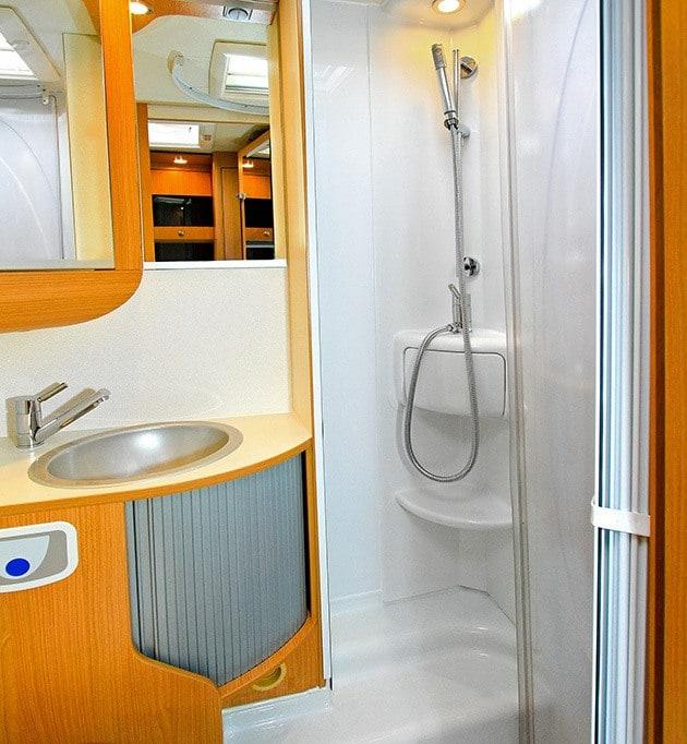 RV Shower Bathroom Sink
