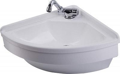 RV White Acrylic Sink