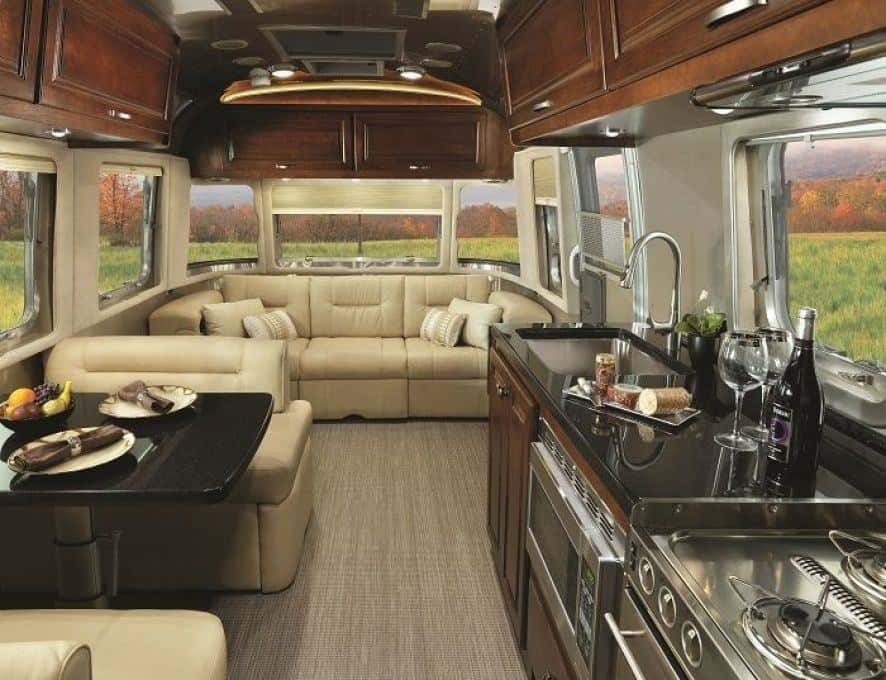 Airstream Trailers Features Inside