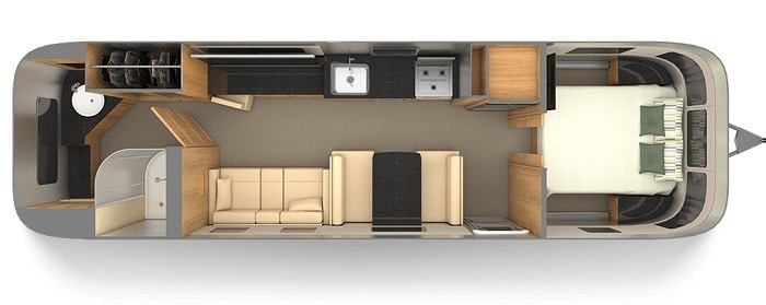 Avion vs Airstream Spacing Layout