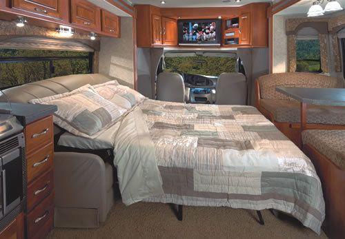 Class C Bedroom Idea Living