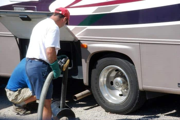 RV Water Tank Maintenance