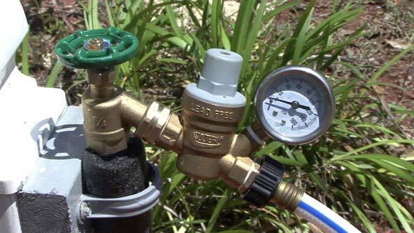 rv water pressure plumbing