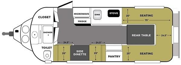 Legacy Elite ii floor plan