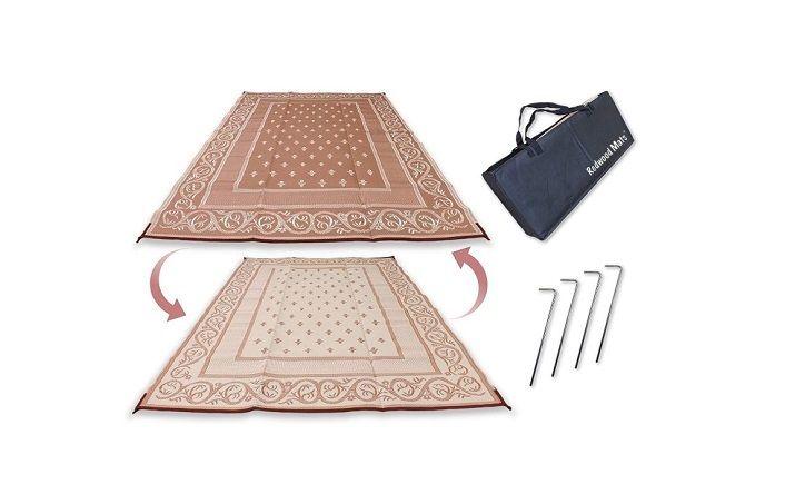 redwood mats patio pat