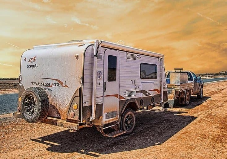 dry camping with rv