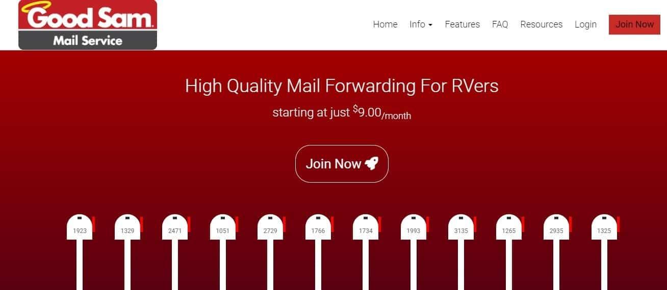 good sam mail service