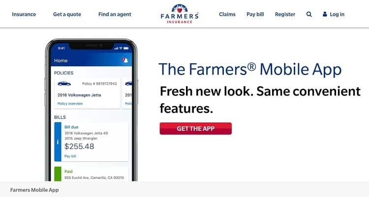 rv farmers mobile app