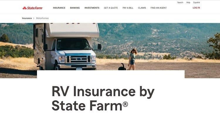 rv insurance state farm