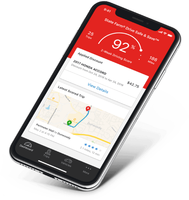 state farm drive safe and save app