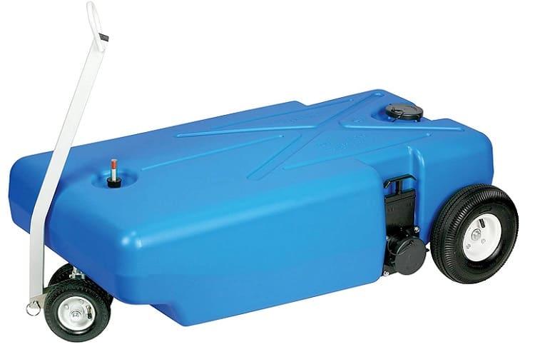 Barker 30844 42-gallon 4-wheel waste wagon