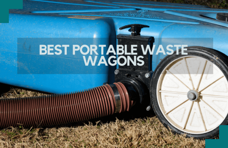 best portable waste wagons