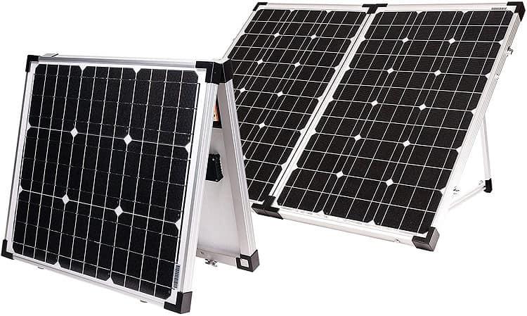 Go Power! 130 Watt Portable Solar Kit
