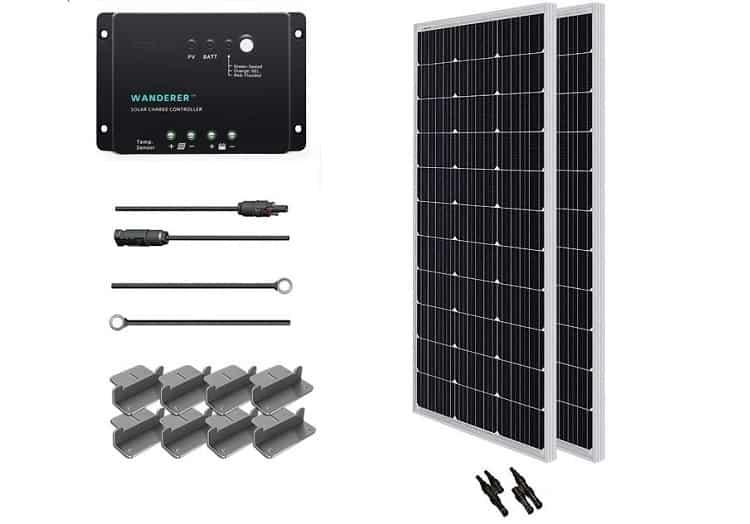 est Solar Panels for RV: Renogy Monocrystalline Solar Starter Kit