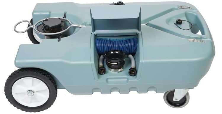 Tote-N-Stor 20129 portable waste wagon